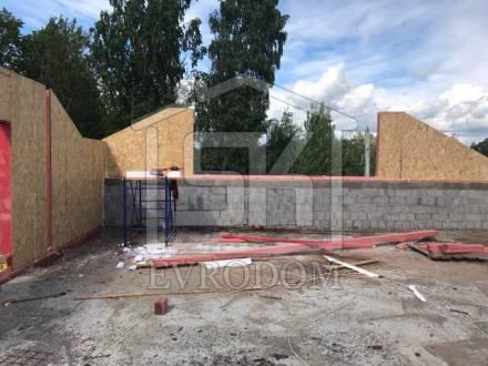 Строительство мансардного этажа из СИП панелей в п.Усть-Ижора Ленинградской области.