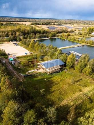 Строительство ресторана из СИП панелей по индивидуальному проекту в п. Ропша Ленинградской области