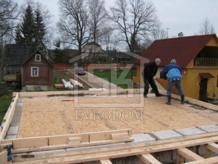Строительство загородного дома из газобетона по индивидуальному проекту (Курортный р-н.)