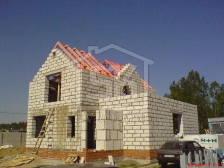 Строительство загородного дома из газобетона по индивидуальному проекту (Всеволожский р-н.)