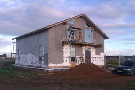 Строительство загородного дома из СИП панелей по проекту ГРАТИОН (Ломоносовский р-н Лен. обл.)