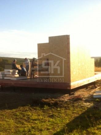 """Строительство загородного дома из СИП панелей по типовому проекту """"КЛАССИКА"""" в г.Мурманск"""