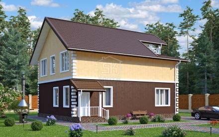 06.03.2017 г. У нас новый проект дома из СИП панелей ВИЛЮЧИНСК.
