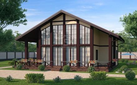 24.02.2016 г. Завершено проектирование дома из СИП/SIP панелей по индивидуальному проекту площадью 223 м2