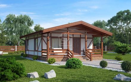 """Встречайте, новый проект дома из СИП панелей """"ХИТТОЛОВО""""!!!"""