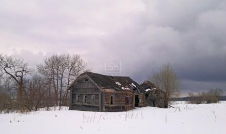 Начался демонтаж дома в г. Волхов Ленинградской области.