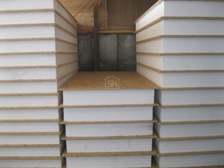 Отгружен комплект СИП /SIP панелей размера 2500х1250х174 п. Пудость Гатчинский р-н Ленинградская область для самостоятельного монтажа.