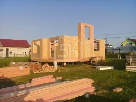 Дом из СИП панелей по проекту «Демо»