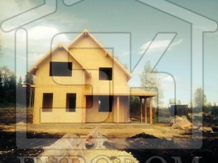 14.05.2014 г. Завершен монтаж дома из СИП панелей