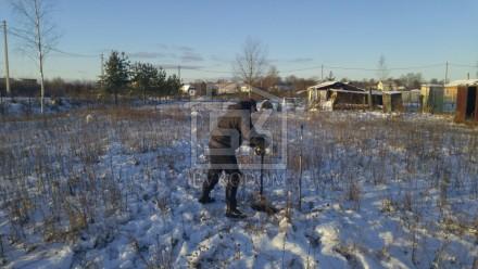 17.02.2016 г. Прошло исследование грунта под свайно-винтовой фундамент и строительство дома  по индивидуальному проекту.