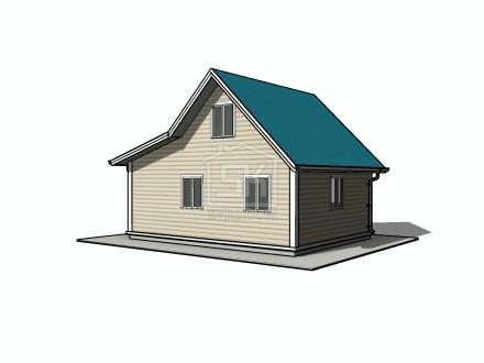 05.12.2015 г. Начато проектирование дома по каркасной технологии