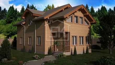 Проект СИП дома 215 м2