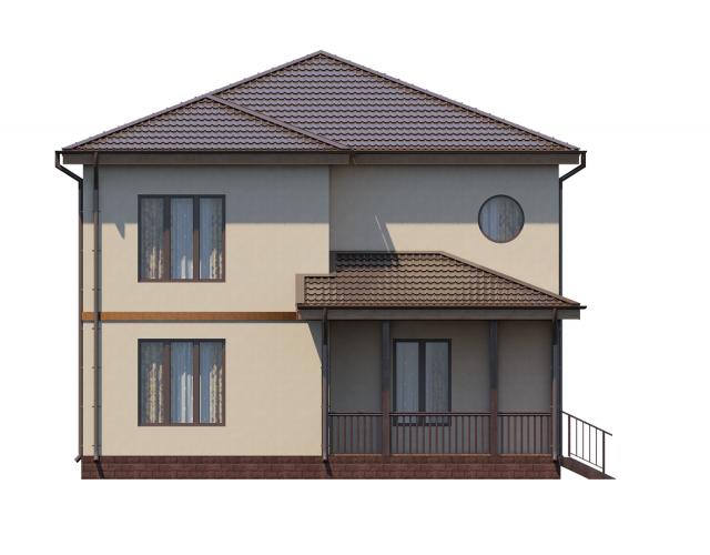Проект дома из СИП панелей ВАЙЯ