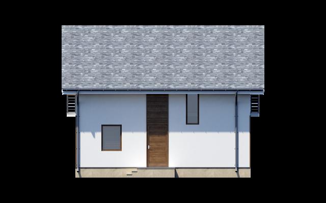 Проект дома из СИП панелей Комфорт