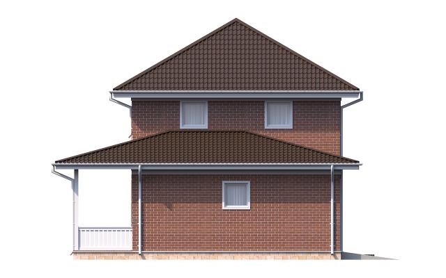 Проект дома из СИП панелей ДРУЖНОЕ