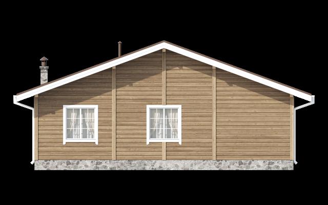 Проект дома из СИП панелей КЕРРО