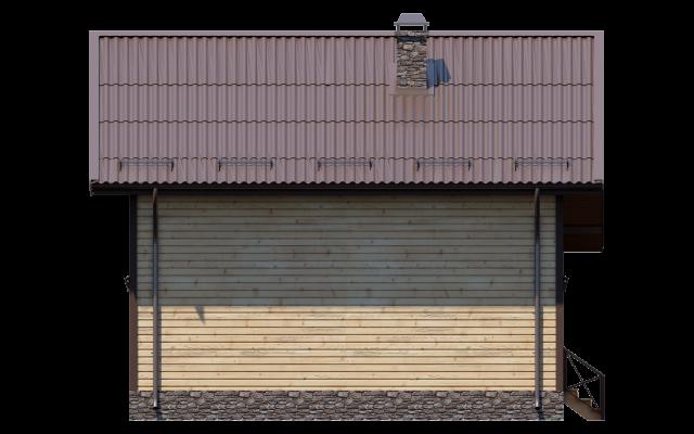 Проект дома из СИП панелей СИЕНА