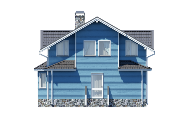 Проект дома из СИП панелей РОПША