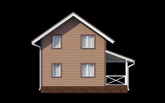 Проект дома из СИП панелей КИСКЕЛОВО