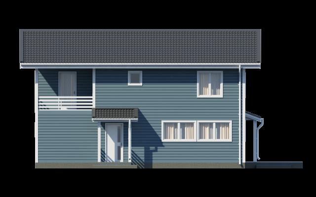 Проект дома из СИП панелей ТАЛЛИН