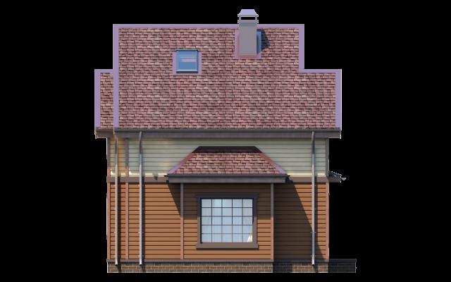 Проект дома из СИП панелей ДЕМО-2