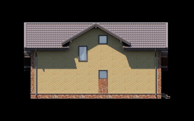 Проект дома из СИП панелей ЗЕЛЁНАЯ РОЩА