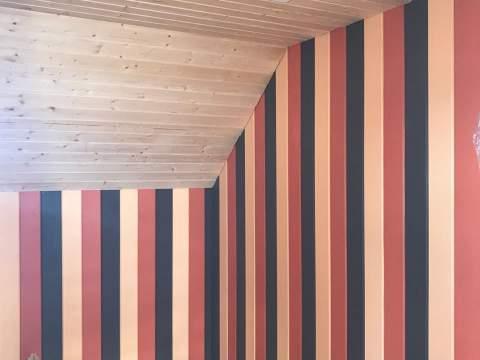 Строительство дома из СИП панелей по индивидуальному проекту в д.Санино  Ленинградской области.