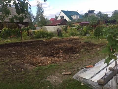 Демонтаж дома завершён